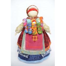 Славянская кукла - Столбушка с детками